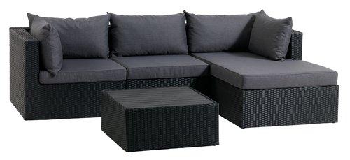 Bast Garnit Bastrup Cent Modul Cr Jysk Lounge Home Home Decor
