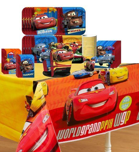 disney 39 s cars 2 party supplies pinata party pack including