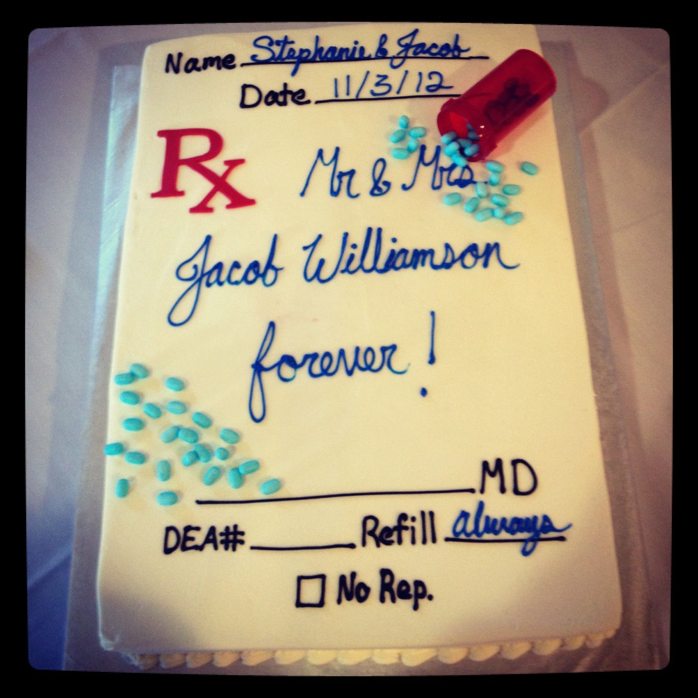 RX Grooms Cake By Showcakes Houston Pharmacy Weddingcake - Crazy cake designs lego grooms cake design