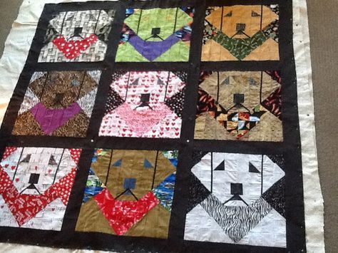 LABRADOR MEMORIAL QUILT Quilt/Wall Hanging - PATTERN ONLY IN MEMORY OF MAIDEN…