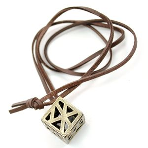 (OP028-BROWN) Unisex Casual Couples Necklace