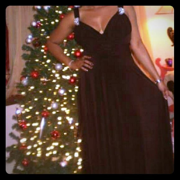 Dress Gorgeous chocolate colored gown JS Boutique  Dresses Maxi