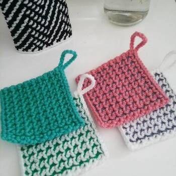 かぎ針 編み エコ たわし