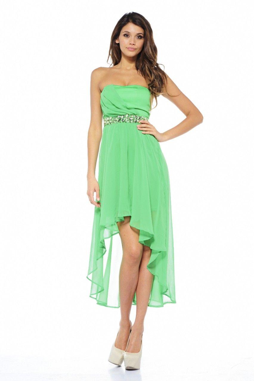 Jewel Embellished Mullet Dress $64 | Clothes | Pinterest