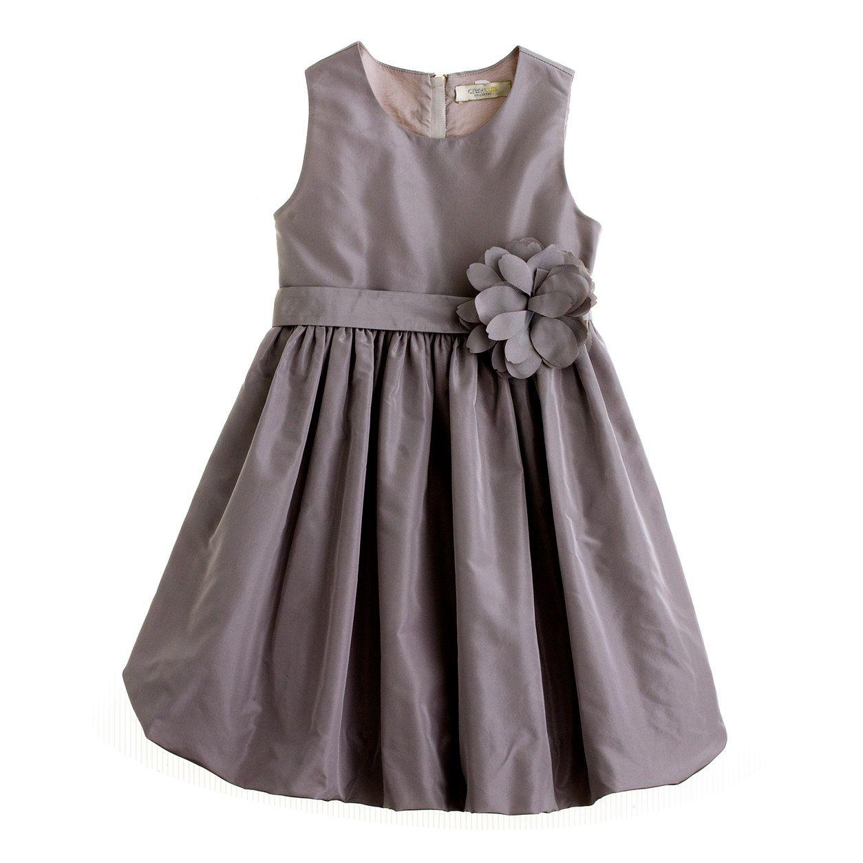 Flower girl? Girls\' silk taffeta Gillian dress : flower girls | J ...
