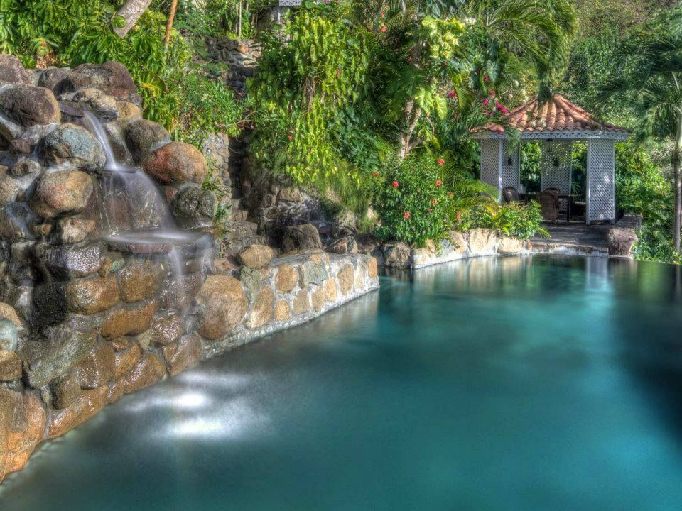 Firefly Hotel Mustique St Vincent | Tropical pool, Pool