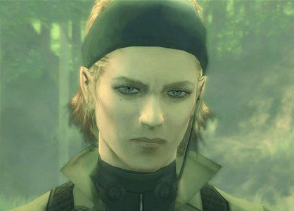 The Boss Metal Gear Solid 3 This Shot Of Her Face Says A