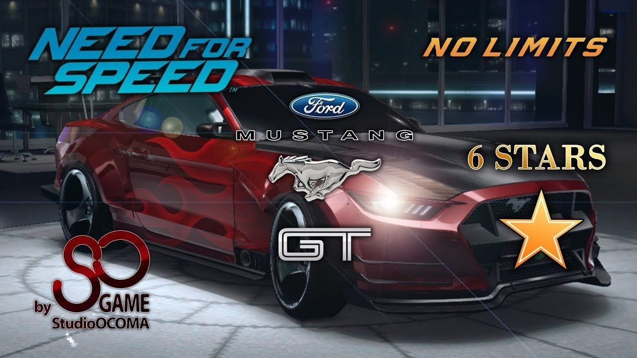Ford Mustang Gt 6 Stars Need For Speed No Limits Ford