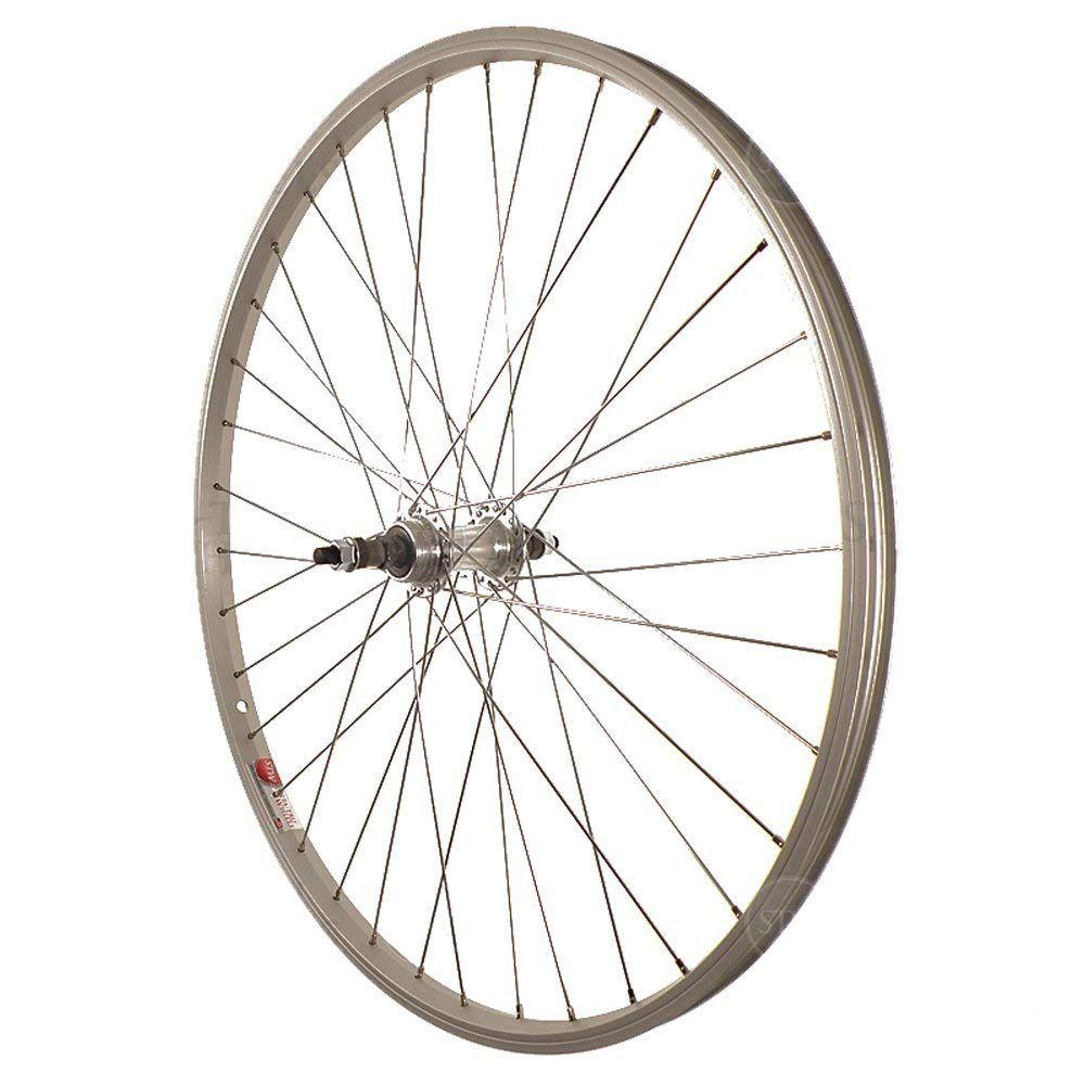 Sta Tru Stw Silver Rear Mountain Bike Wheel Rws2615aa Best Road