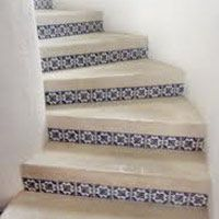 Mexican tile Staircases