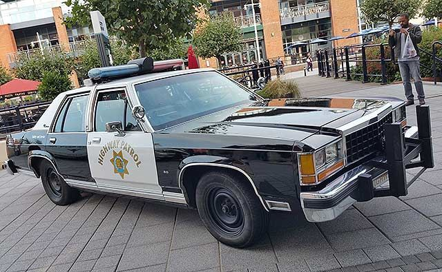 1985 Ford Crown Victoria Chp Police Nice Old Police Cars