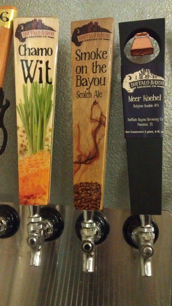 Buffalo Bayou Brewery Tap Handles By Steve Walters Woodworking Choperas Manija