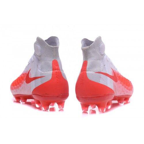 sale retailer 44997 d05d1 Comprar Botas De Futbol Nike Magista obra II FG Baratas Blancas Rojas