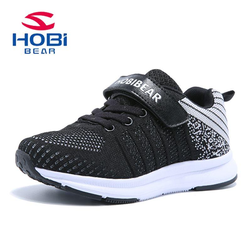 2561c1c5 Niños zapatos de los muchachos de las muchachas hook & loop Ligero  Transpirable zapatillas para caminar