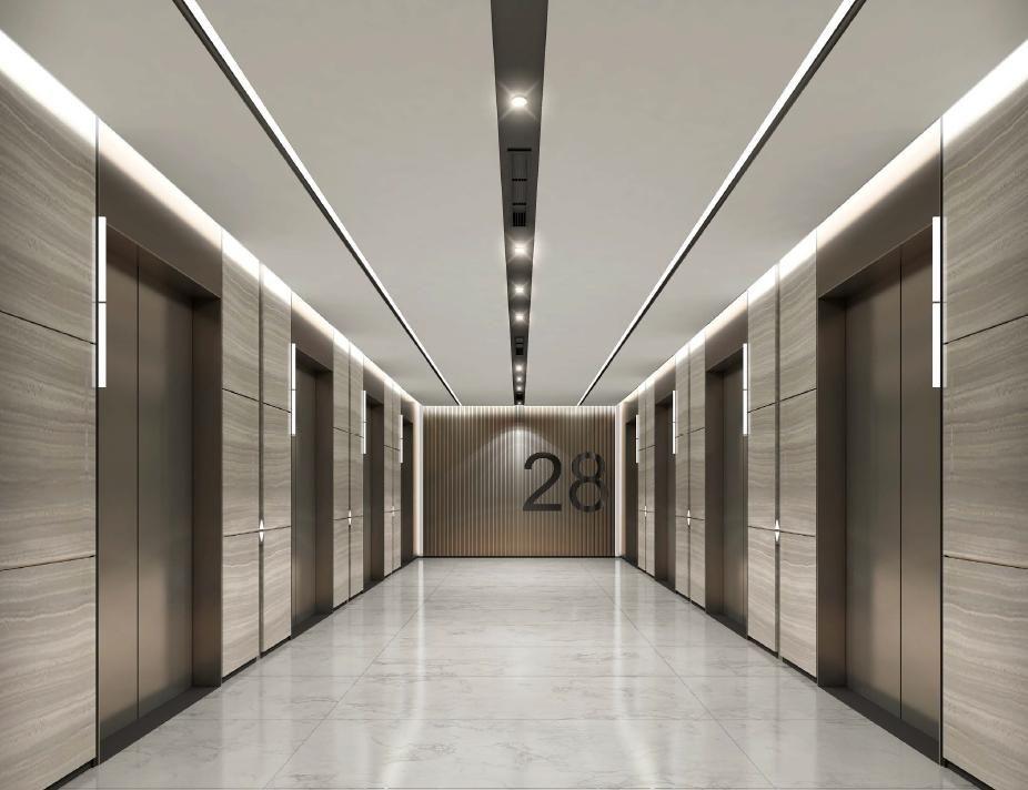 Pin by kaymluk on lift hall pinterest lobbies for Office hallway design