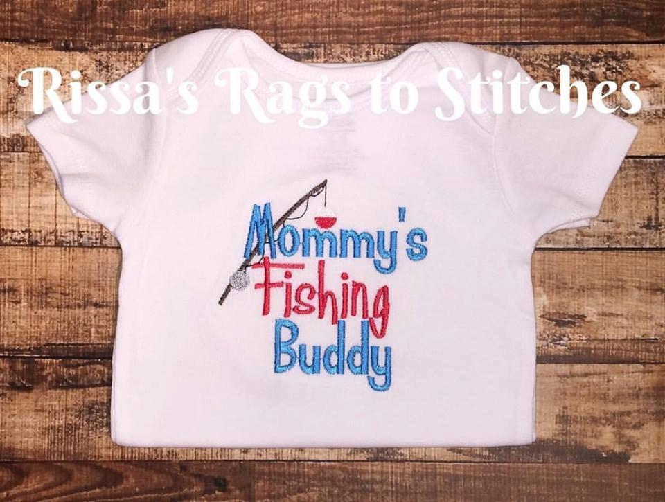 Mommy/'s Fishing Buddy Onesie