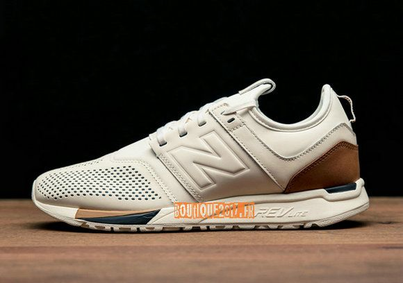 new balance 247 luxe blanche