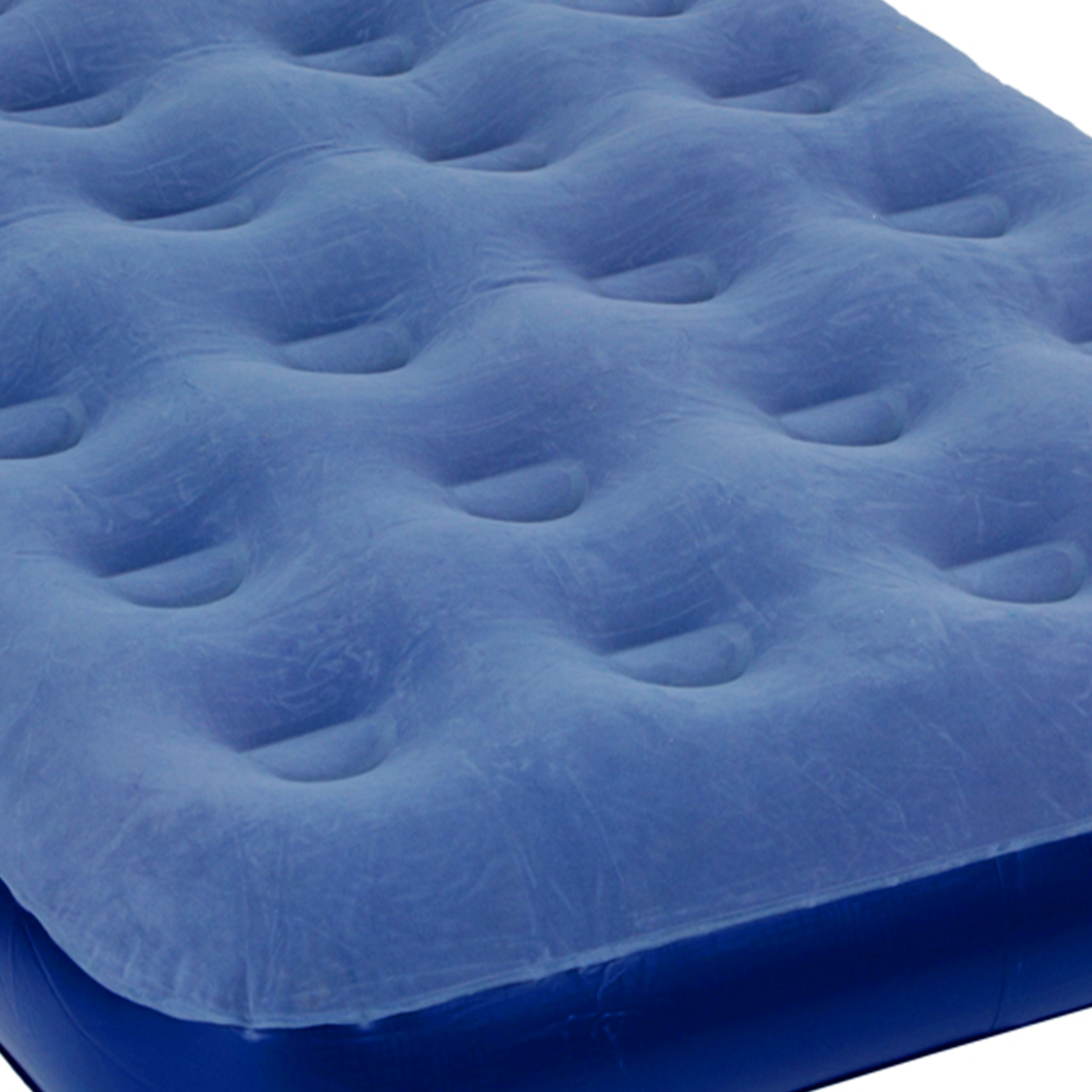Pure Comfort Low Profile Flock Top Twin Air Mattress with