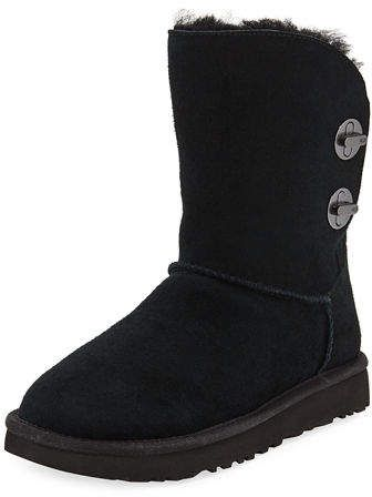 5fe850f999a UGG Short Luxe Turn-Lock Boots | Products | Short uggs, Uggs, Boots