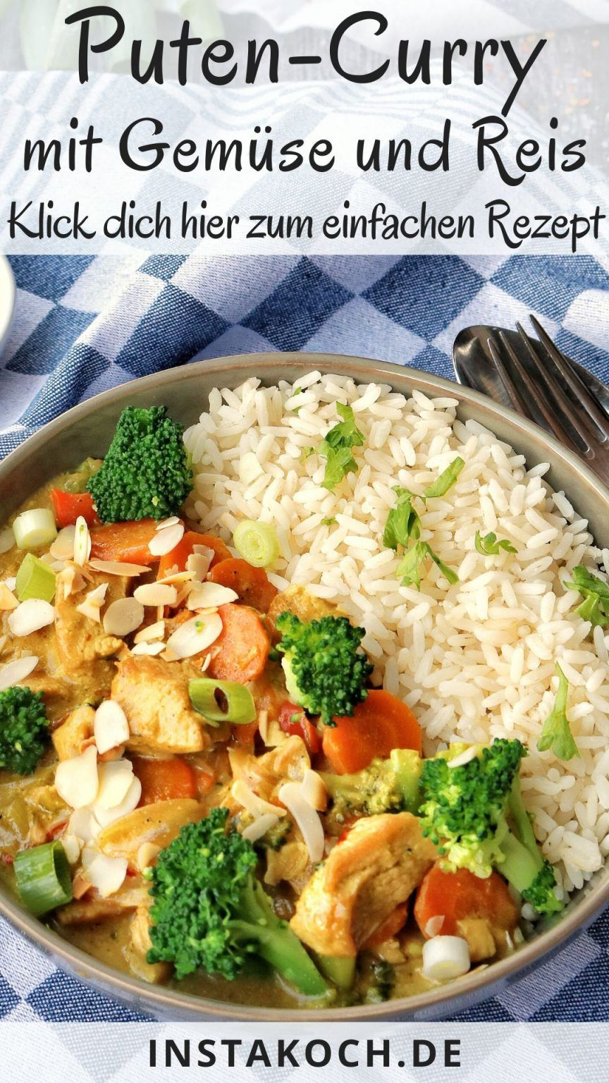 Ma recette simple de curry de dinde avec du brocoli, des amandes et du riz est un excellent plat qui plaira à tous les amateurs de riz. Le curry de dinde est stressant ...