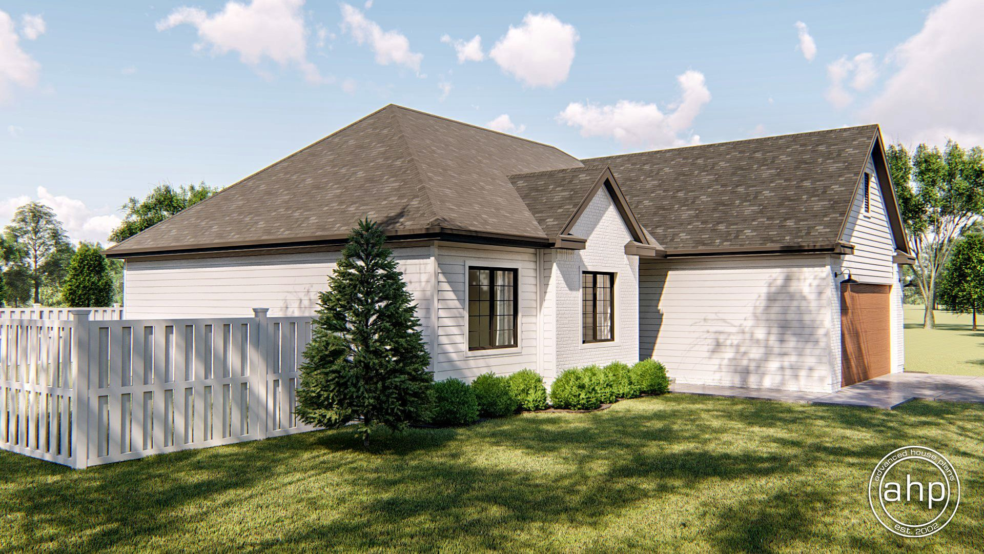 Sinclair 1 Story Modern Farmhouse House Plan House plans