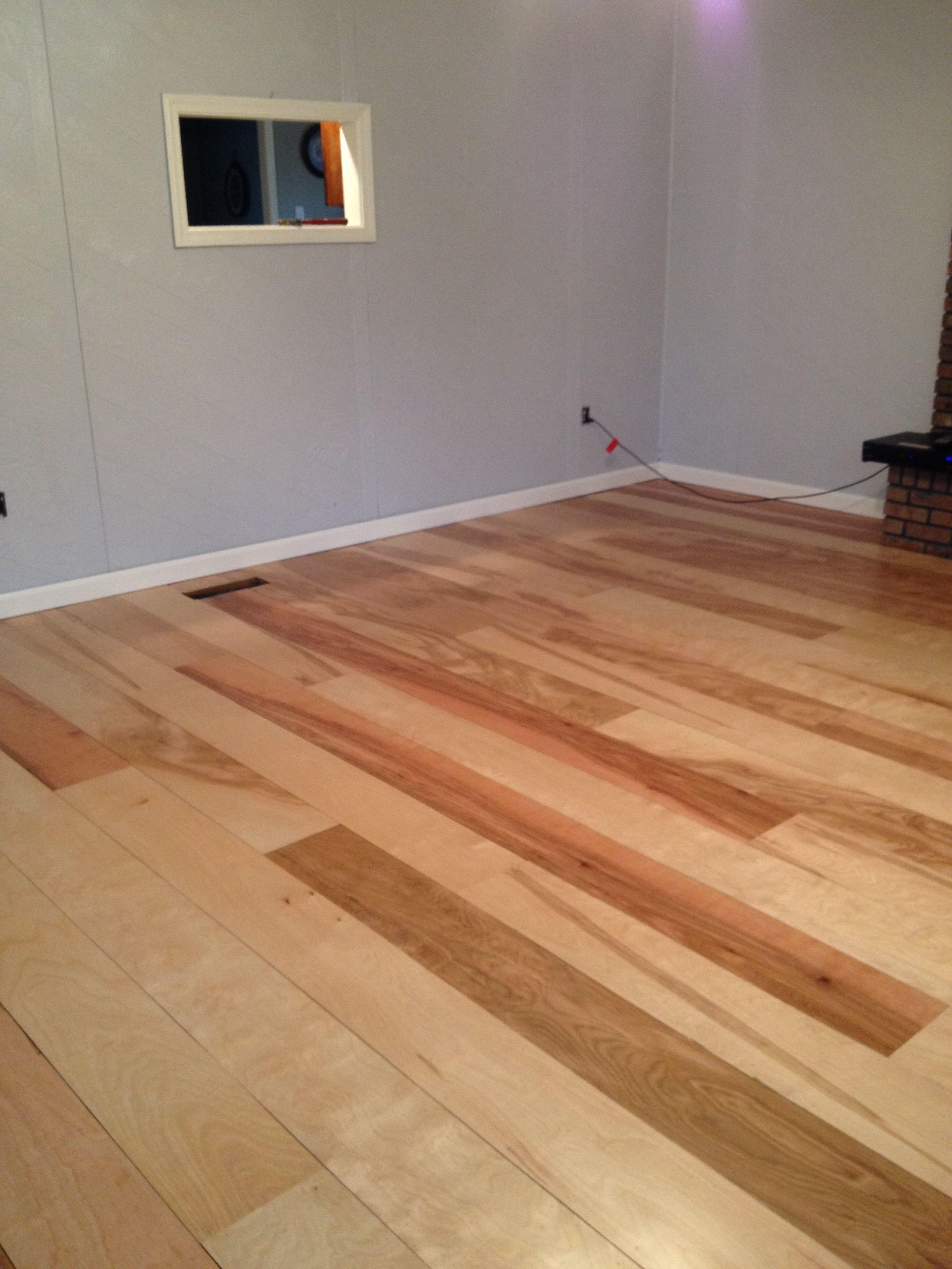 Diy Birch Plywood Plank Floors Remodeling Ideas