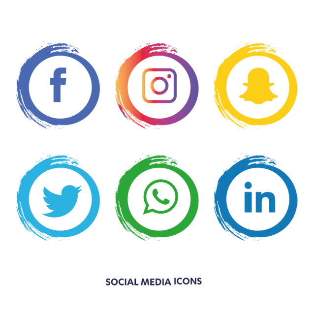 Social Media Icons Set Facebook Facebook Icons Social Icons Media Icons Png And Vector With Transparent Background For Free Download Social Media Icons Media Icon Logo Facebook