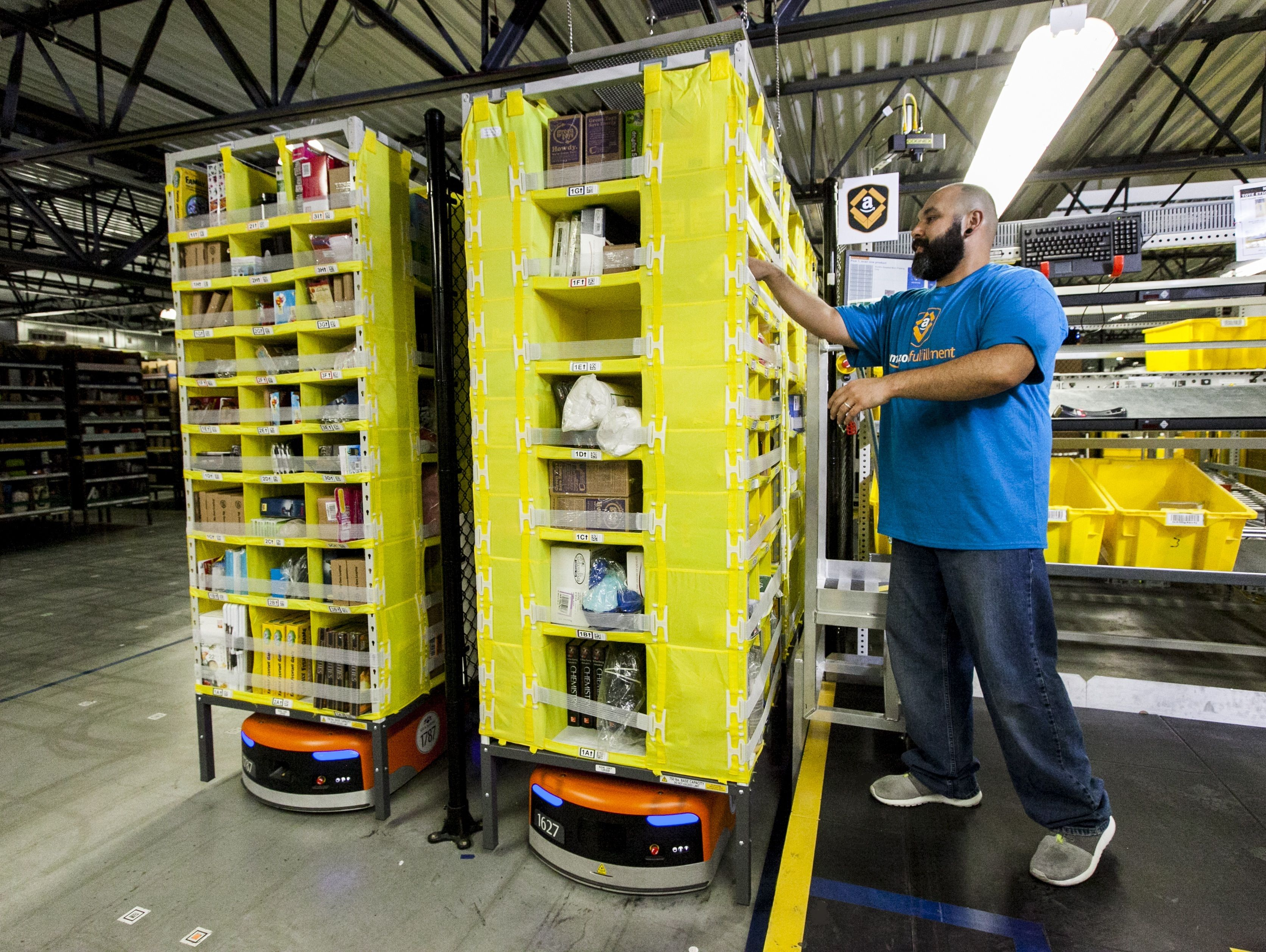 Meet The Robot Armies That Are Transforming Amazon S Warehouses