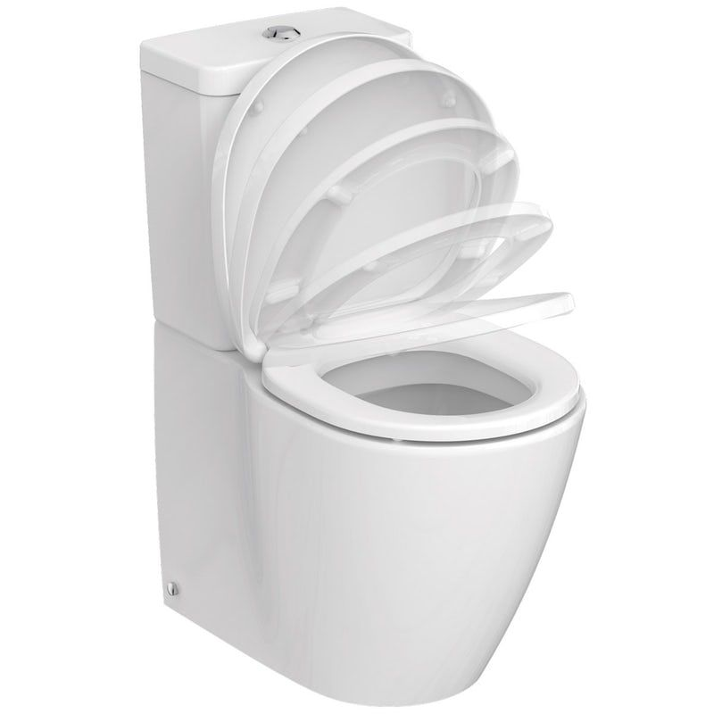 Phenomenal Ideal Standard Concept Space Close Coupled Toilet With Soft Bralicious Painted Fabric Chair Ideas Braliciousco