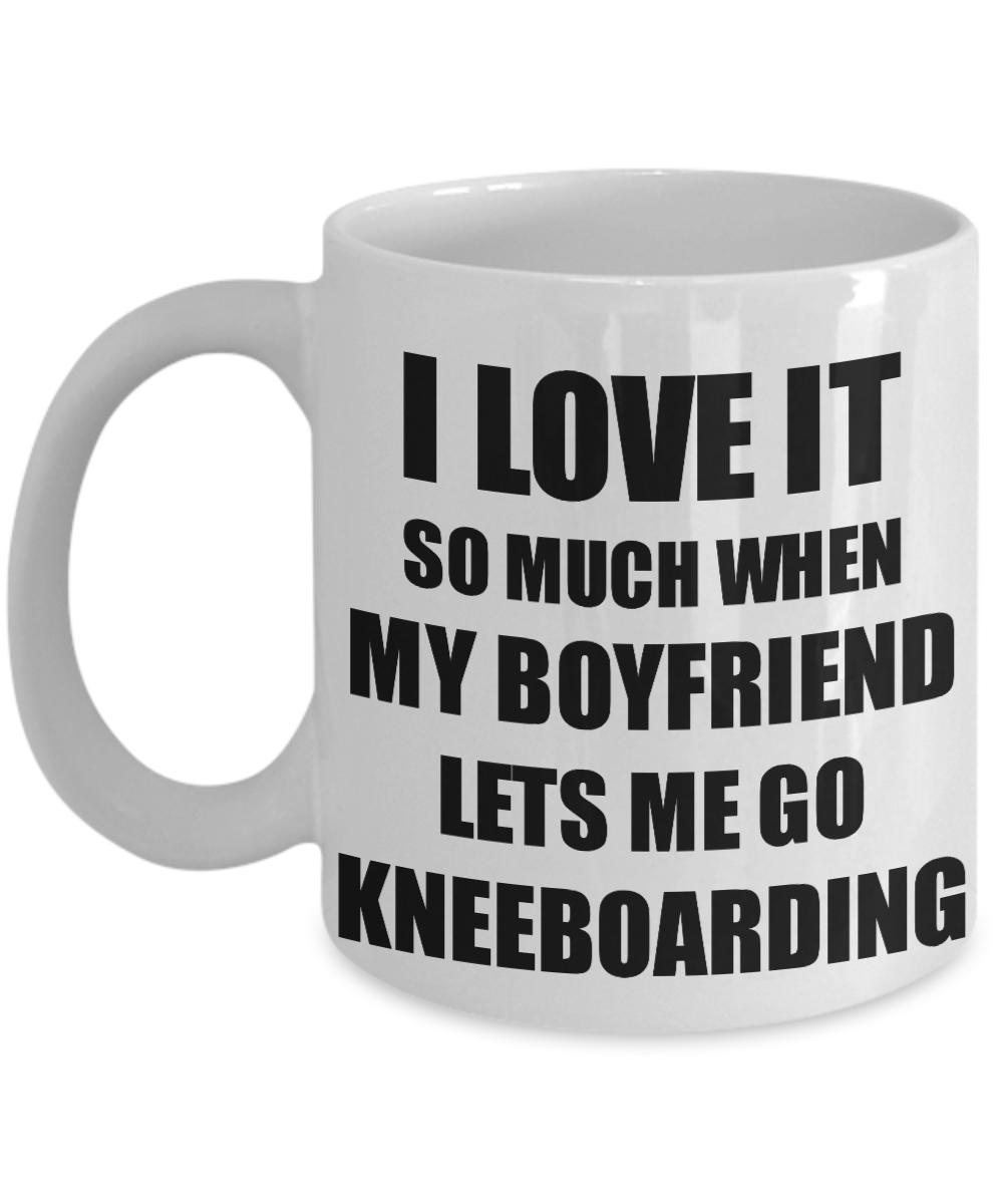 Kneeboarding Mug Funny Gift Idea For Girlfriend I Love It When My Boyfriend Lets Me Novelty Gag Sport Lover Joke Coffee Tea Cup