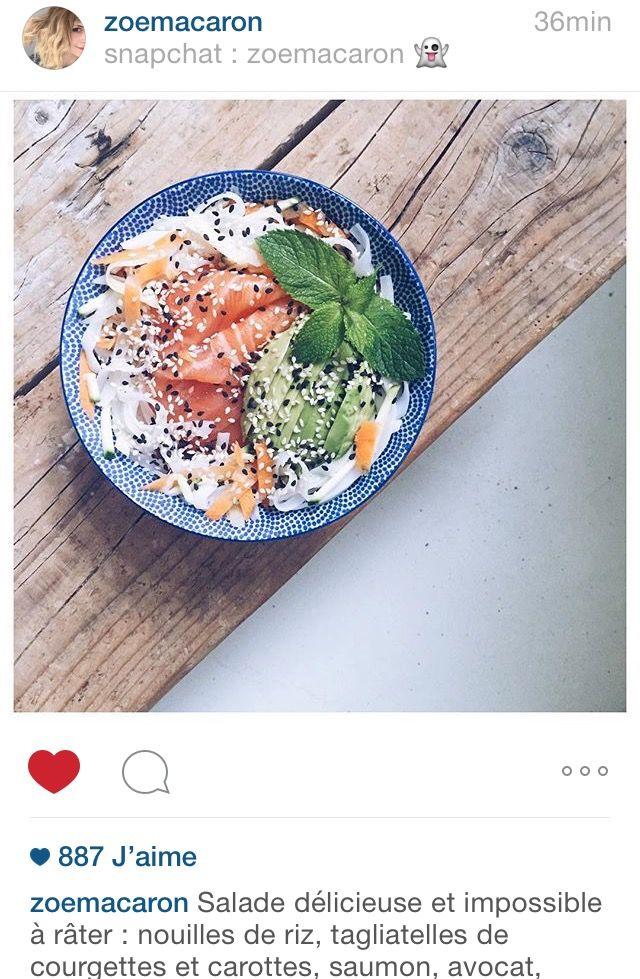 Salade facile Zoé Macaron