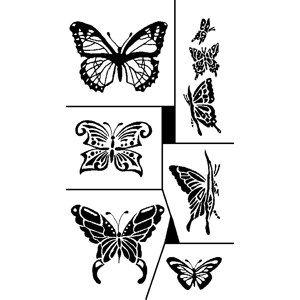 Butterflies Etchworld Com Glass Etching Supplies Superstore Glass Etching Stencils Glass Etching Patterns Glass Etching