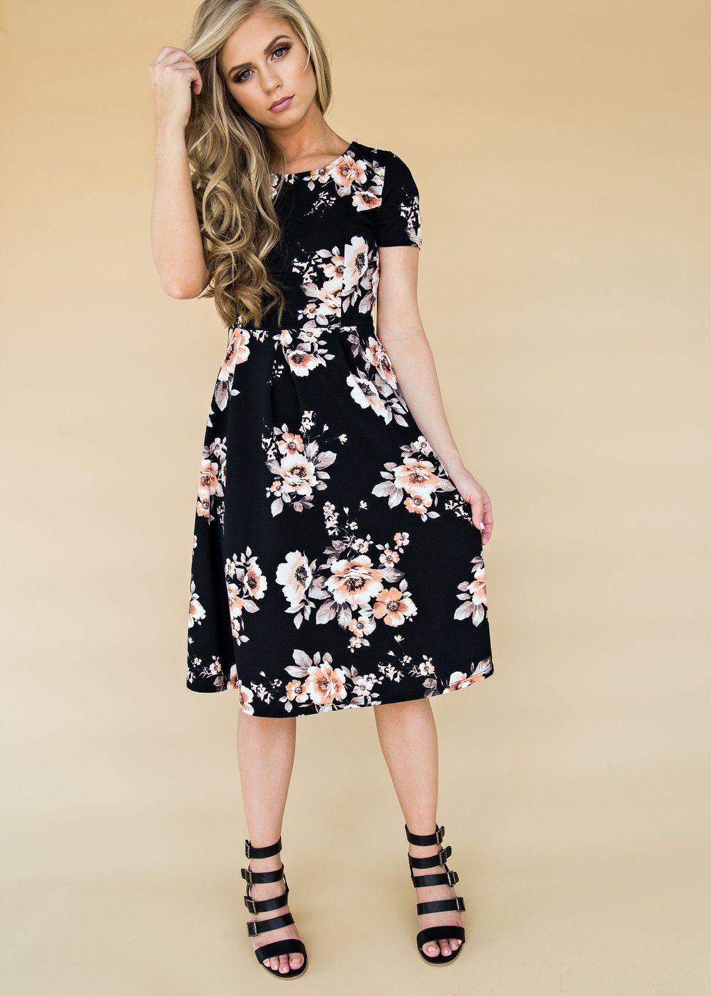1e90ed78f7 Black Luciana Dress