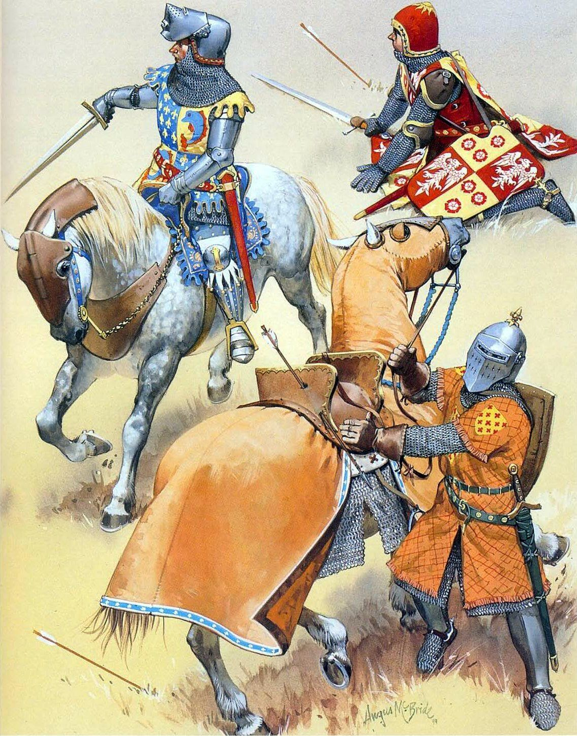 French Knights Hundred Years War