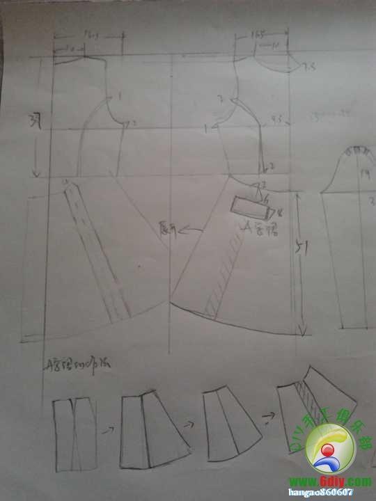 dress2 #sewing #patternmaking