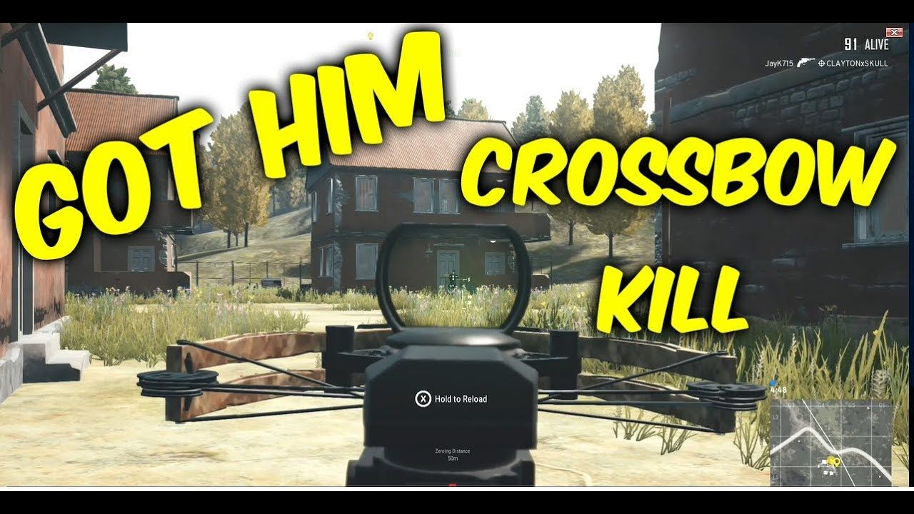 Crossbow Kill Wins More Pubg Xbox One Best Moments 2 Follow Me On