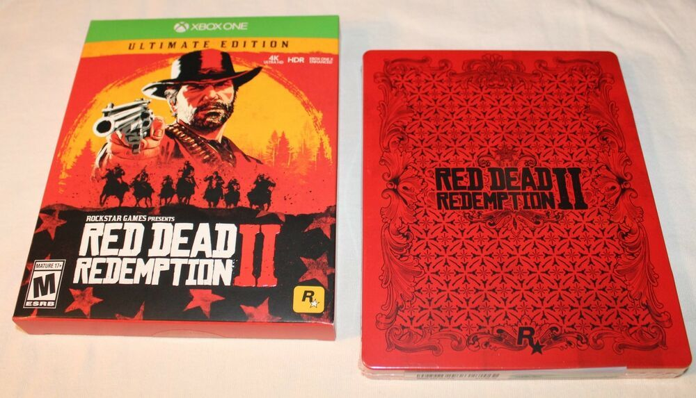 Red Dead Redemption 2 Ultimate Edition Microsoft Xbox One Maps Included No Dlc Reddeadredemption Gaming Xboxone Red Dead Redemption