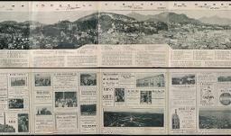 Empresa de Propaganda Brazileira : Panorama circular da cidade de São Sebastião do Rio de Janeiro, Brasil, visível do Morro de Santo-Antonio
