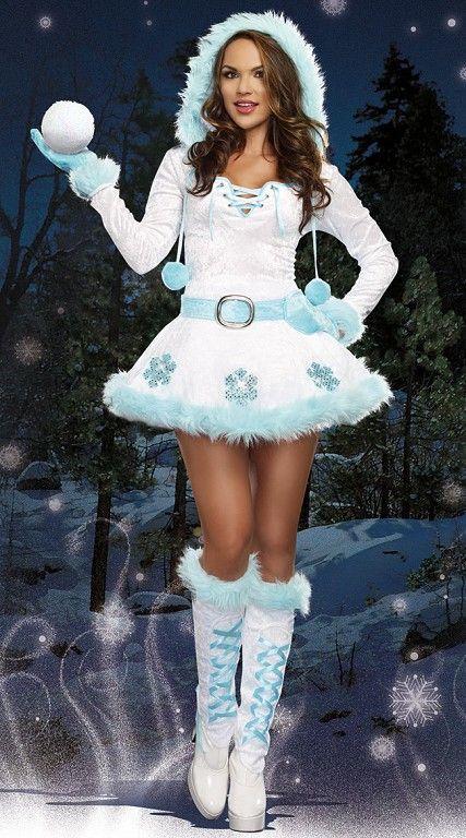 девушки в форме снегурочки фото виной была пьянка