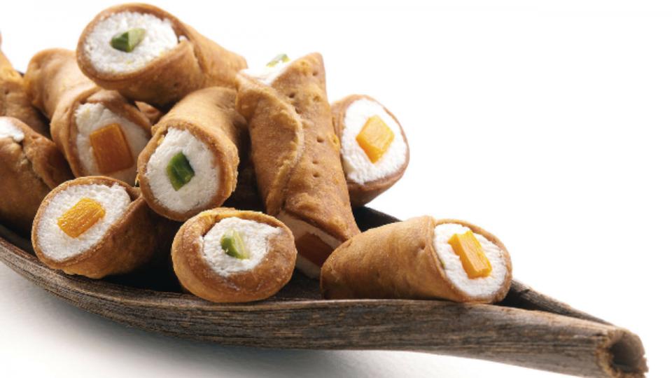 Cannoli Siciliani Salati Di Luca Montersino Cannoli