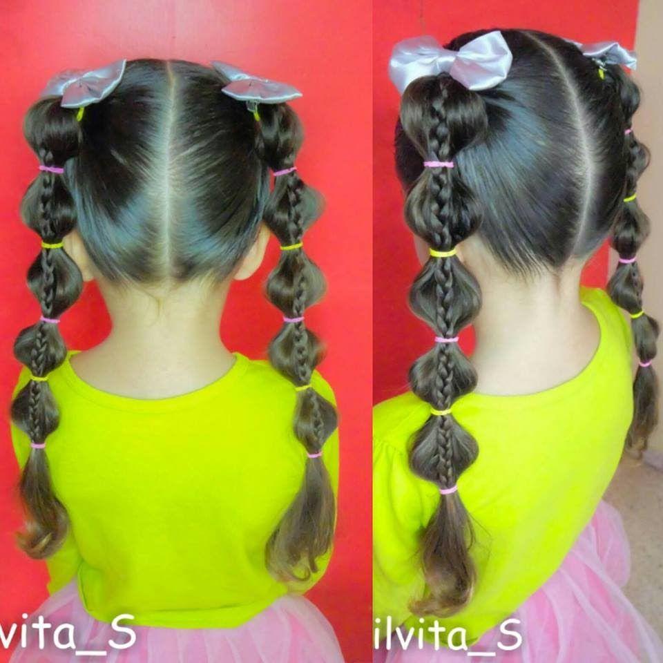 Peinado Facil Para Nina Easy Hairstyle For Girl Peinado Facil Peinados Infantiles Peinados De Ninas Faciles
