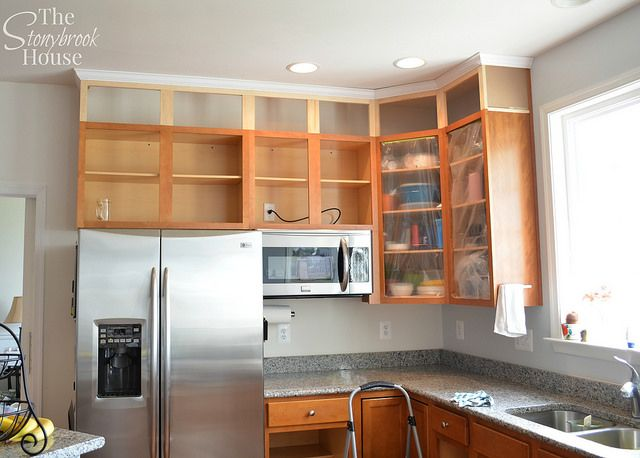 Best Extending Kitchen Cabinets To The Ceiling Kitchen 640 x 480