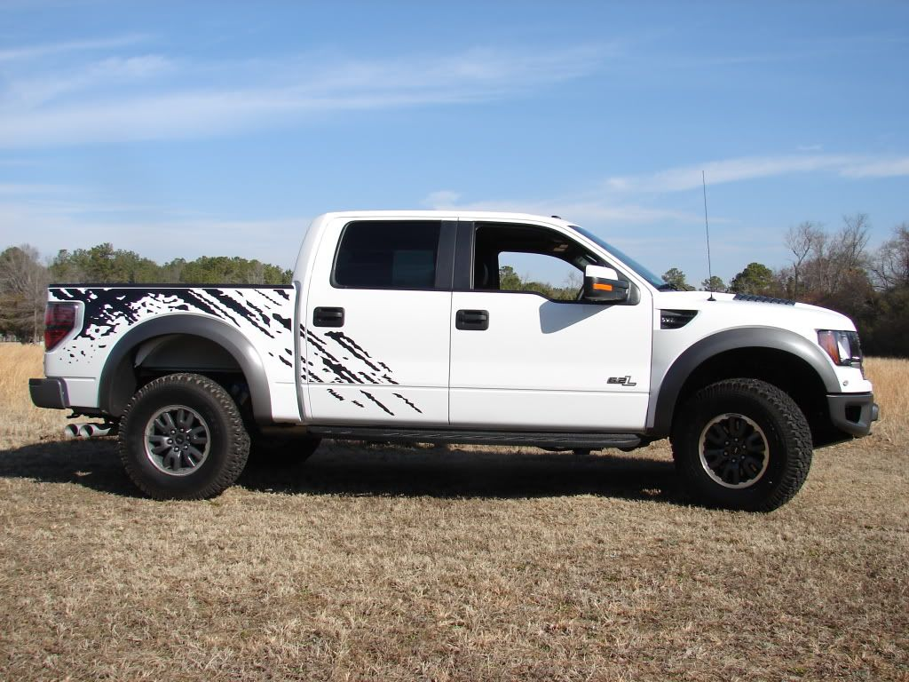 Side Graphics Graphic Ideas For Richards Ford Raptor - Ford raptor decals