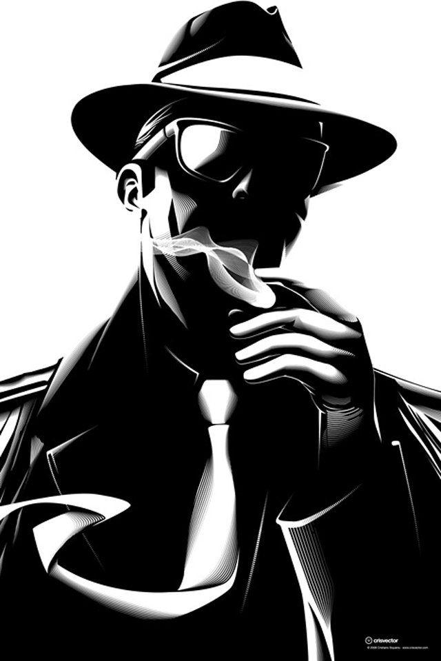 День, рисунок на аватарку для мужчин