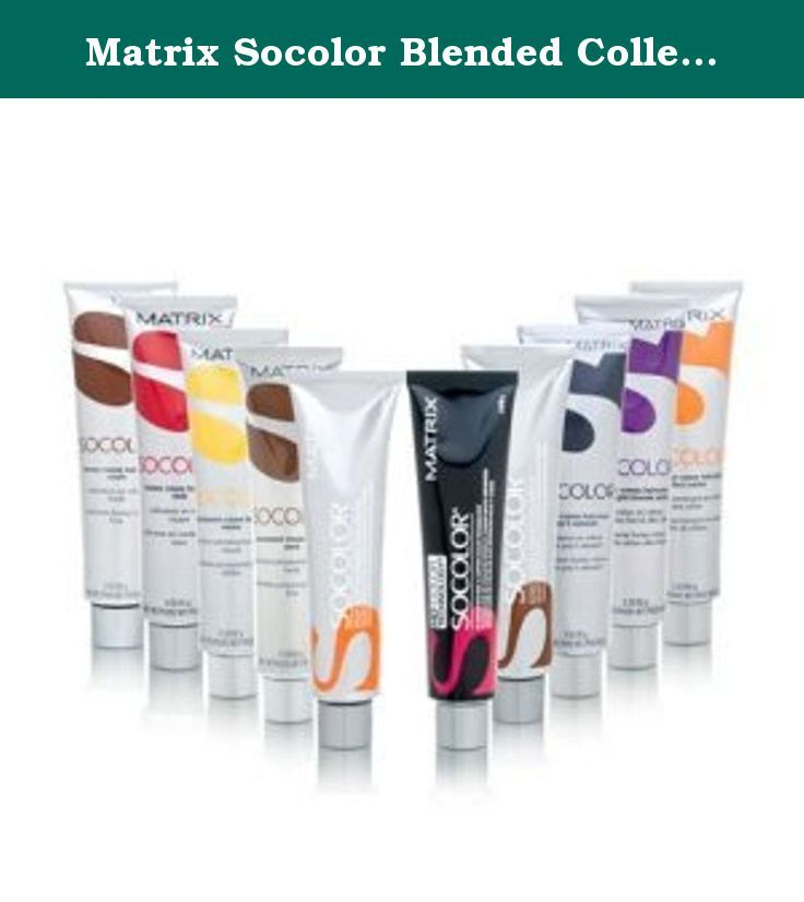 Matrix Socolor Blended Collection Permanent Cream Haircolor 3oz 85g