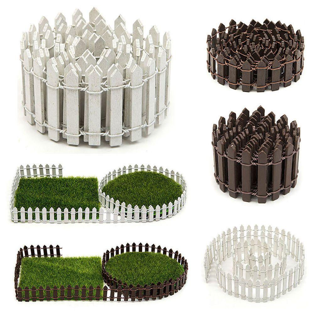 Flower Beds Plants Miniature Landscape Fairy Garden Decor Dollhouse// Accessories