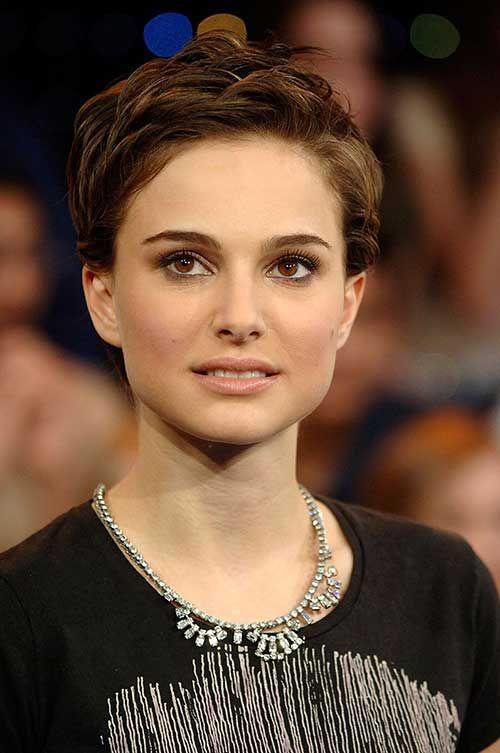 10+ Best Natalie Portman Pixie Cuts | Pinterest