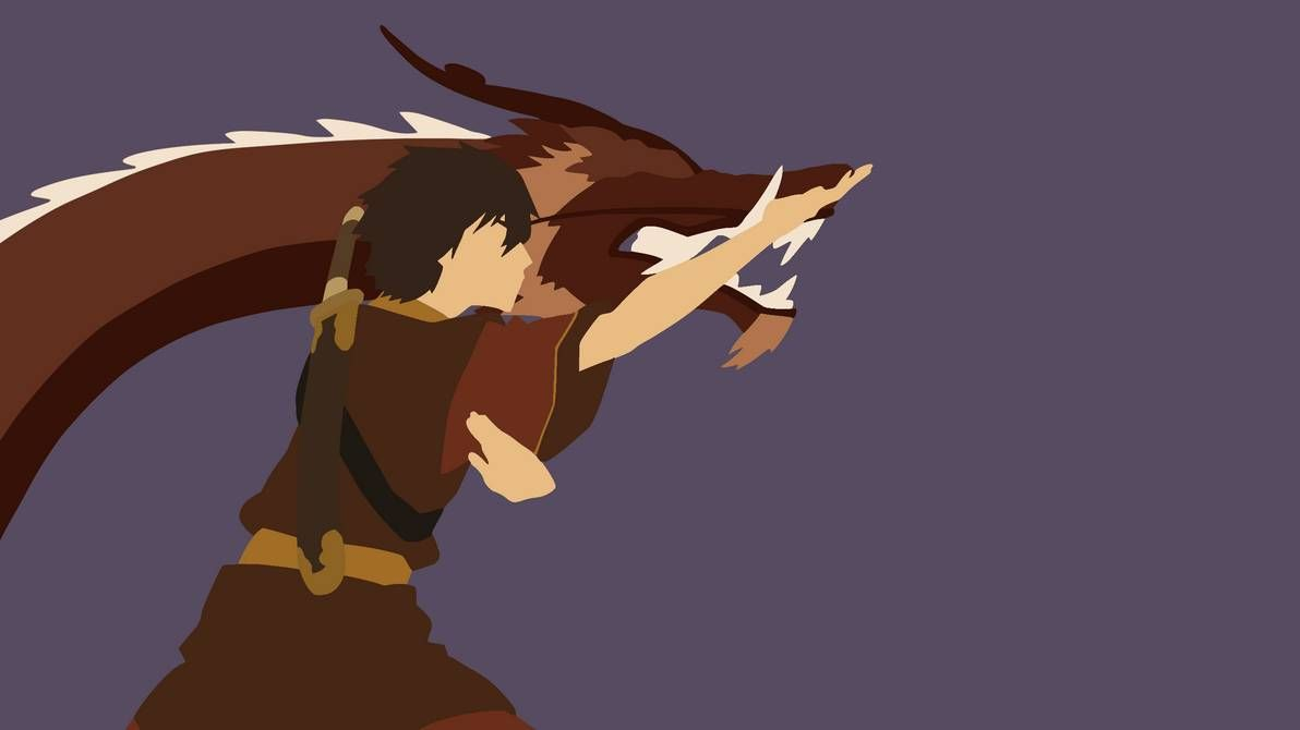 The Dragon Dance Zuko Minimalist Wallpaper By Damionmauville On Deviantart In 2020 Avatar Cartoon Dragon Dance Avatar The Last Airbender Art