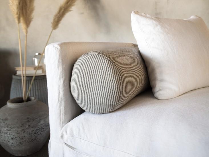 linen bolster cushion luxury linen