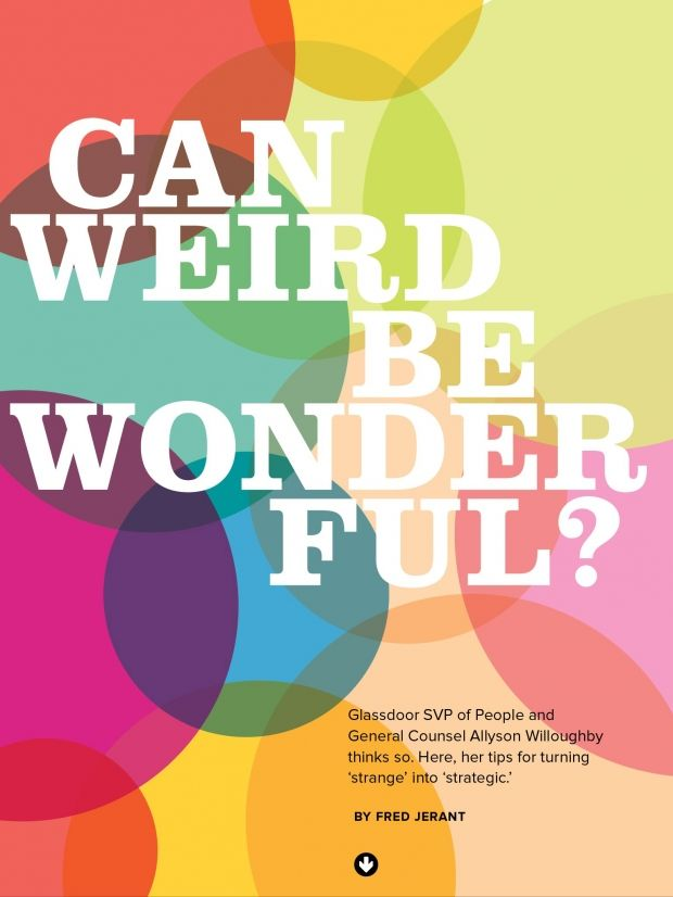 Can Weird Be Wonderful? #issue10 #career Forefront Features - new blueprint medicines general counsel